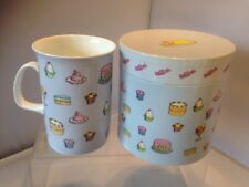Cup Cake ceramic Mug with box Christmas
