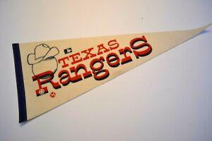 """Vintage Texas Rangers 30"""" Major League Baseball Pennant"""