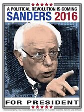 2016 Bernie Sanders Campaign Poster  that measures 18x24 - New