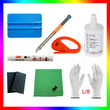 1x ORIGINAL 3M Primer 94+ Felts+3M cloth+ IPA+ 2x cutters+Wrap Gloves L/8 &other