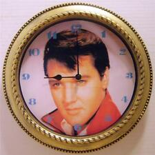 "ELVIS PRESLEY 12"" WALL CLOCK - ""YOUNG ELVIS"" - NEW IN BOX"