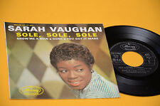 "SARA VAUGHAN 7"" EP SOLE SOLE SOLE TOP JAZZ '50"