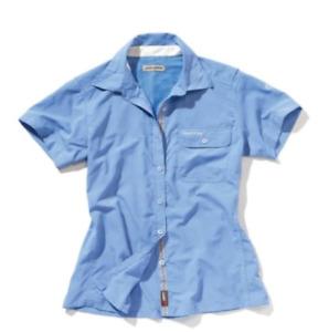 Craghoppers| Womens Nosilife Darla SS Shirt | Crystal Blue | 12