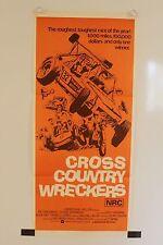 Cross Country Wreckers - Original Daybill Movie Poster