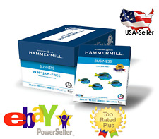 Hammermill Multipurpose 5000 Sheets Printer Copy Paper White 8.5x11 Case 10 Ream