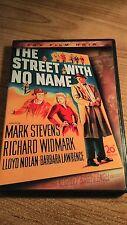 The Street With No Name (DVD, 2005) Mark Stevens  // VERY RARE 1948 CRIME DRAMA