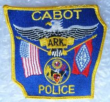 Patch- Cabot ARK Arkansas US Police Patch  (NEW, apx. 90x100 mm)