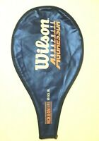 Wilson Tennis Racket Cover Graphite Aggressor High Beam Series Blue