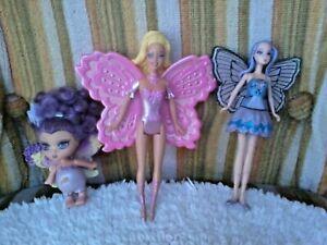 BARBIE FAIRYTOPIA fairy and other Fairies as in photos