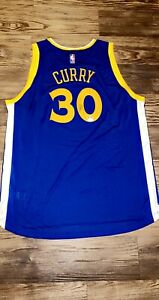 Stephen Curry Golden State Warriors Signed Autographed Jersey JSA COA