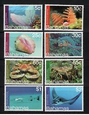 Bahamas 2012 Marine Life Definitive set UM (MNH)