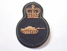 Canada Canadian Armed Forces trade Armoured Tank qualification badge Level 3 gre