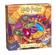 Harry Potter and the Sorcerer's Stone Trivia Game 2000 Complete