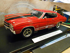 Chevrolet Chevelle SS Coupé v8 presque & Furious 1970 Dom TV Movie Greenlight 1:18