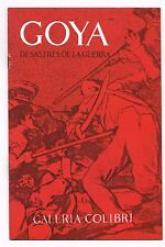 Francisco Goya Desastre De La Guerra Galeria Colibri Art Catalog Puerto Rico 65