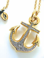 Juicy Couture knots and Anchor Necklace Charm Pendent