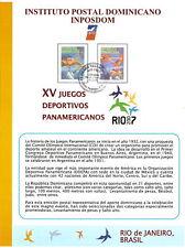 DOMINICAN Republic - SPECIAL Souvenir Cardboard Sheet  COMPLETE  2006-2015