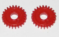 2 X Plastic 24 Tooth Gear for 3 mm Shafts - 24T - 3mm - 10.3 mm OD Pinion Gears