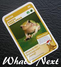 Woolworths<AUSSIE ANIMALS><Series 2 Baby Wildlife>CARD 33/36 Green Tree-Frog