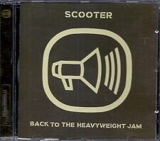 CD ALBUM 12 TITRES--SCOOTER--BACK TO THE HEAVYWEIGHT JAM--1999