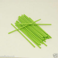 Paper Craft Straws X 50 Green (21cm) Arts and Crafts Flower Stem EASTER CRAFTS