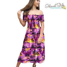 Rayon Midi Floral Women's Maxi Dresses
