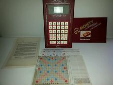 MONTY PLAYS SCRABBLE-PORTABLE COMPUTER CONSOLE-1983-#66-COMPLETE-WORKS