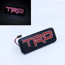 TRD LED Light Emblem Front Grille Badge For Toyota Camry Corolla Yaris Decal H