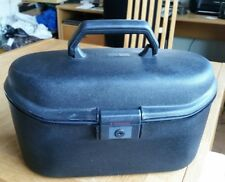 Samsonite -Black Vanity Case /hard shell - cosmetic case /cabin luggage