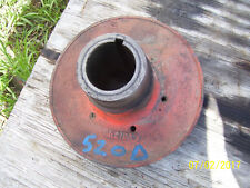VINTAGE JI CASE 520 DIESEL  TRACTOR -377 ENG FRONT PULLEY  -1954