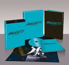 BLU RAY Evangelion 3.33 You Can (Not) Redo LIMITED introvabile
