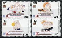 Fiji Stamps 2019 MNH ILO International Labour Labor Organization 4v Set