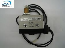 OMRON D4MC-5000 ENCLOSED BASIC LIMIT SWITCH 10A 250VAC SPDT MOUNT PLUNGER +CABLE