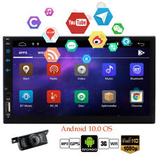 """7"""" Android 10.0 4G WiFi In-dash 2din Car Radio GPS Stereo Bluetooth No CD DVD HD"""
