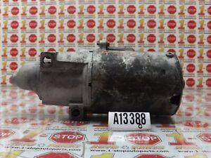 1995 CHEVROLET TAHOE 5.7L ENGINE STARTER MOTOR 10465167