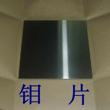 Molybdenum Sheet Molybdenum Plate Mo Foil High Purity 99.95% 0.1*100*100mm