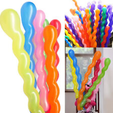 Spiral Latex Balloons Wedding Birthday Party Decoration Balloons  - 50 PIECES