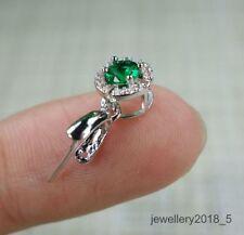 Silver 925 buckles  Pendant Clasp for Jadeite jade 10 pieces