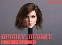 1//6 penelope cruz Female Head sculpt Phicen KUMIK POP Hot Toys Body Super Duck