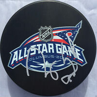RYAN SUTER SIGNED 2015 ALL STAR GAME PUCK MINNESOTA WILD PREDATORS COA J3