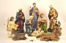 11 Piece Christmas Nativity Scene Set, 300mm, Resin, Beautiful