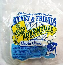 1993 McDonald's Happy Meal Epcott Mickey & Friends Chip in China MIP C10!