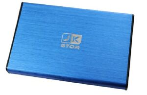 "(JKStor) :320GB External USB 3.0 Portable 2.5"" SATA External Hard Drive  - BLUE"