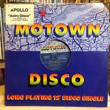 """[SOUL/FUNK/JAZZ]~NM 12""""~APOLLO~Astro Disco (JOEL CAMMERON REMIX)~[6:50]~[10:20]~"""
