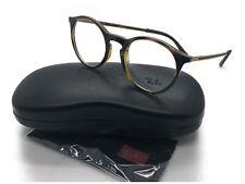 bab26dafbb Ray-Ban RX 7132 2012 Havana Plastic Round Eyeglasses 48.2mm