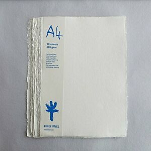 HANDMADE RAG PAPER Pack of 20 - 320gsm - A4