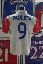 Maillot jersey maglia camiseta trikot shirt psg pauleta neymar vintage thomson S