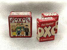 More details for oxo tin and original contents- child's winning design-vintage-1980s