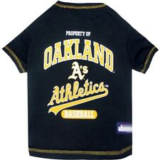 Oakland Athletics Officially Licensed MLB Dog Pet Tee Shirt, Green Sizes XS-XL