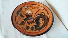 """Ancienne Assiette décorative Digoin  """" COQ """" de 26 cm de diamètre"""